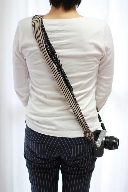 サクラカメラスリングの紐が細くなる