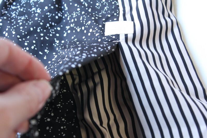 サクラカメラスリング 簡易ポケット 開いたところ