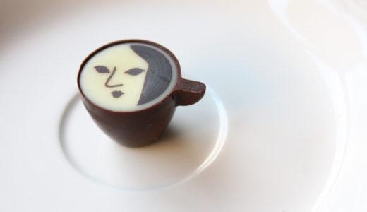 【京都みやげ】『よーじや』のカプチーノチョコレートがコワかわいい。