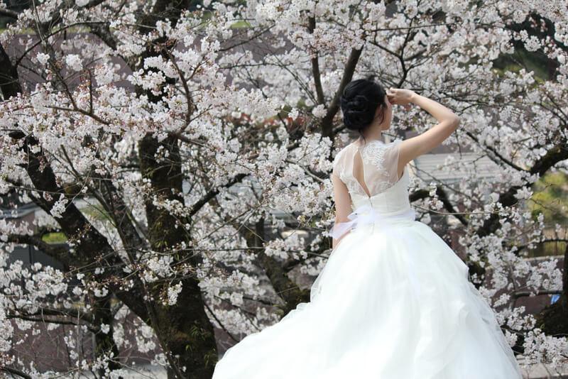 花嫁さんの前撮り