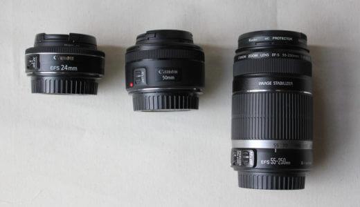 EOS KissXシリーズの最強装備!旅行に持っていくべきカメラレンズ4つ