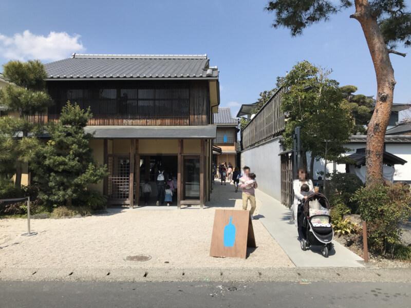 ブルーボトルコーヒー京都カフェ 外観