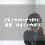 【2019年】子育てママにおすすめのカメラ
