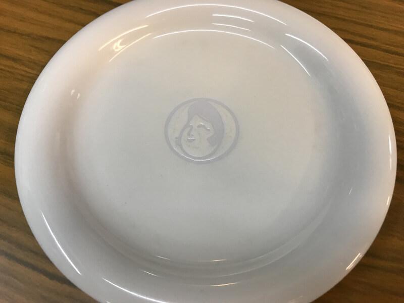 オタフクソースのお皿