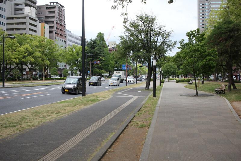 広島100m道路