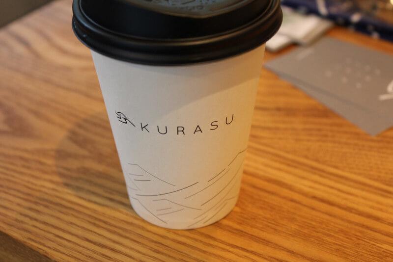 KURASU KYOTOのカップ