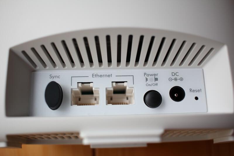 サテライトの端子接続部分