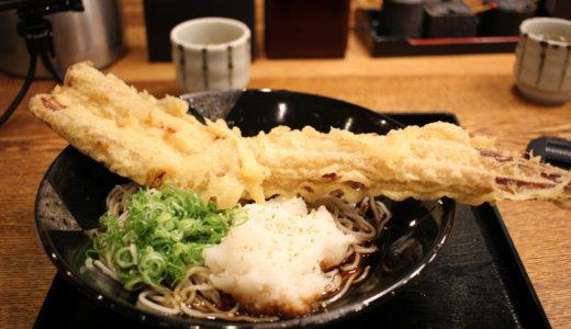 一匹丸ごと使った『京都生そばもり平』の穴子そばがヤバい!京都駅八条口みやこみち