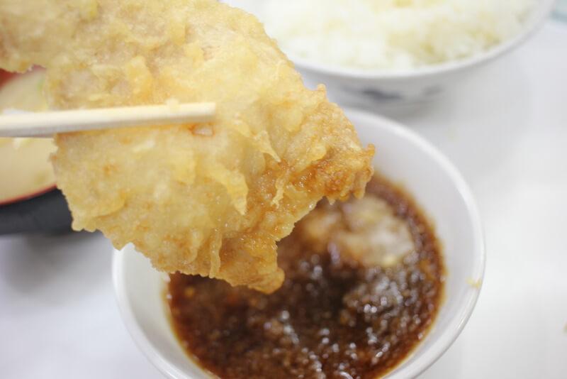 天ぷらと天つゆ