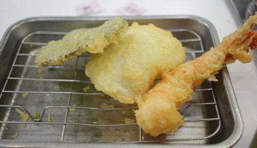 できたての天ぷらがウマい『天麩羅処ひらお』貝塚店に行ってきた!