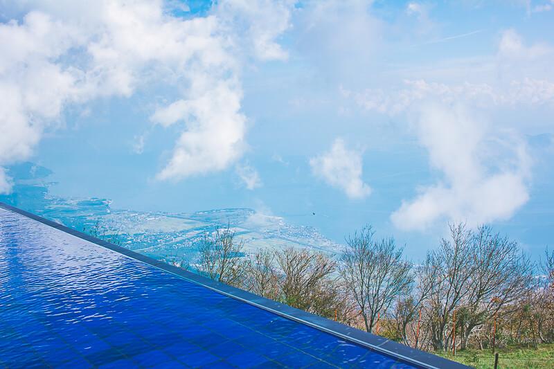 グランドテラスからの眺め