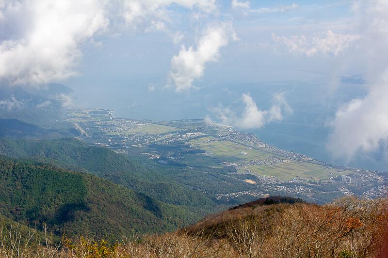 琵琶湖の北方面