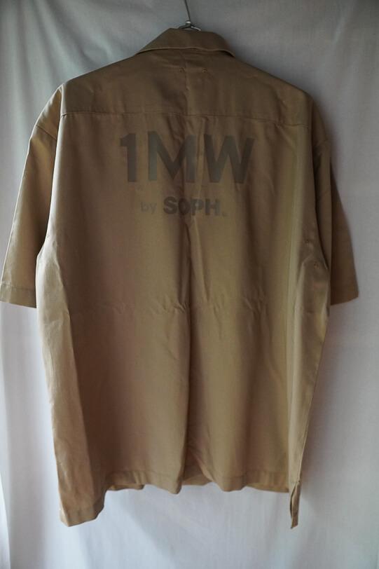 G.U.とSOPH.のコラボ オープンカラーシャツ5分袖 後ろ